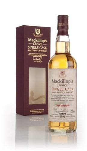 Scapa 22 Year Old 1991 (cask 1211) - Mackillop's Choice