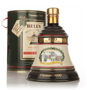 Bell's 1990 Christmas Decanter