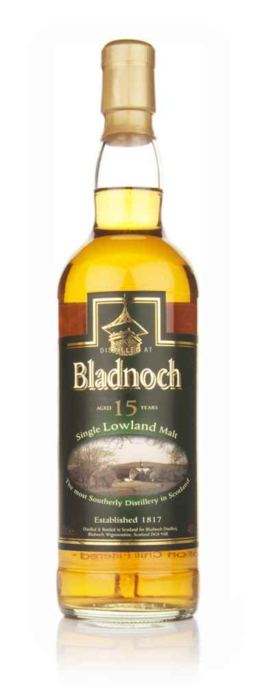 Bladnoch 15 Year Old - Distillery Label
