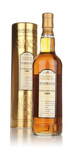 Highland Park 18 Year Old 1989 - Mission (Murray McDavid)