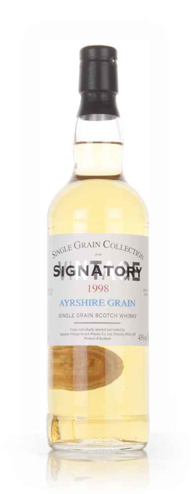 Ayrshire 17 Year Old 1998 - Single Grain Collection (Signatory)