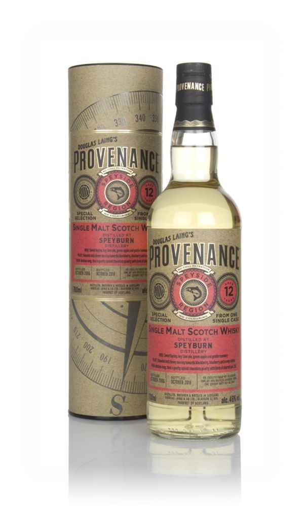 Speyburn 12 Year Old 2006 (cask 12967) - Provenance (Douglas Laing)