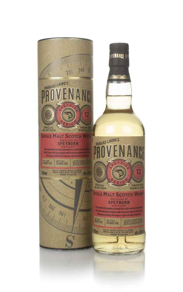 Speyburn 12 Year Old 2007 (cask 13659) - Provenance (Douglas Laing)
