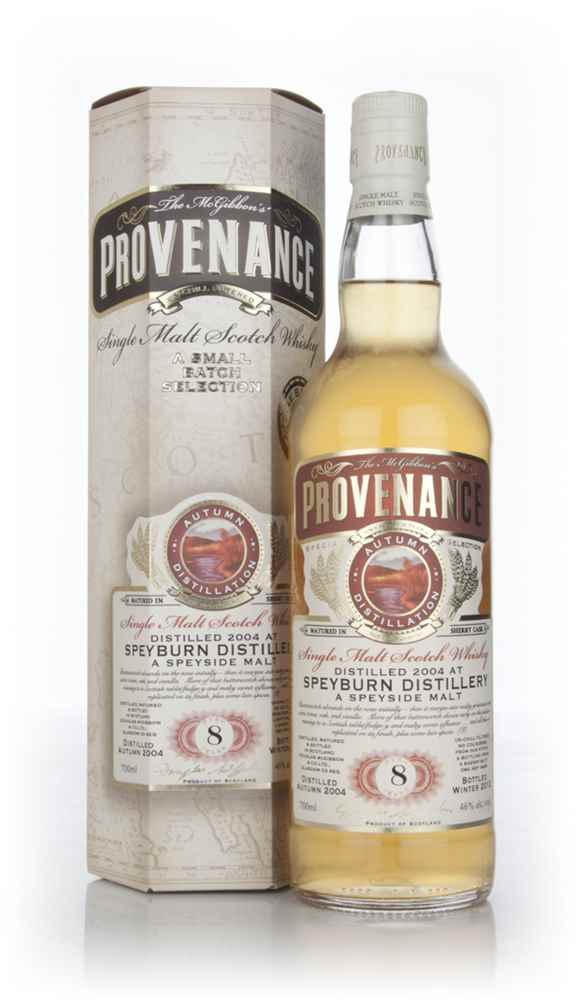 Speyburn 8 Year Old 2004 - Provenance (Dougas Laing)