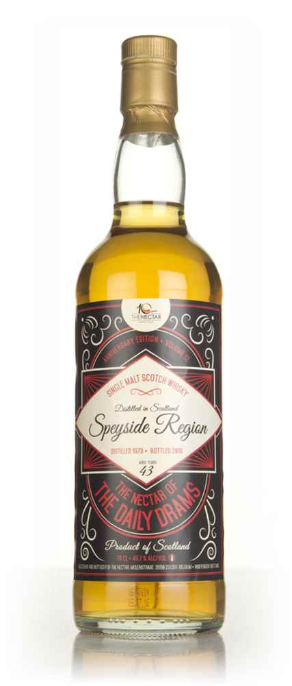 Speyside Single Malt 43 Year Old 1973 - The Nectar of the Daily Drams