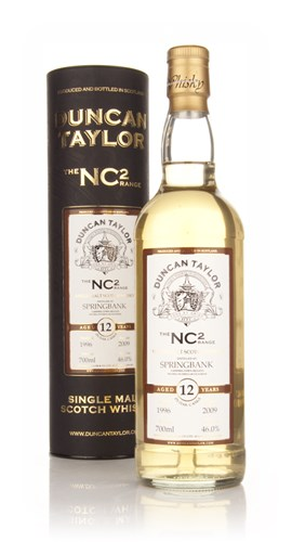 Springbank 12 Year Old 1996 - NC2 (Duncan Taylor)
