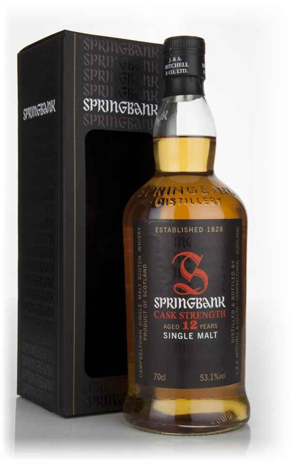 Springbank 12 Year Old Cask Strength - Batch 5