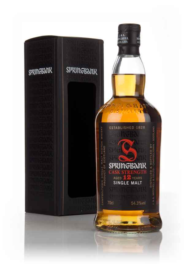 Springbank 12 Year Old Cask Strength - Batch 9