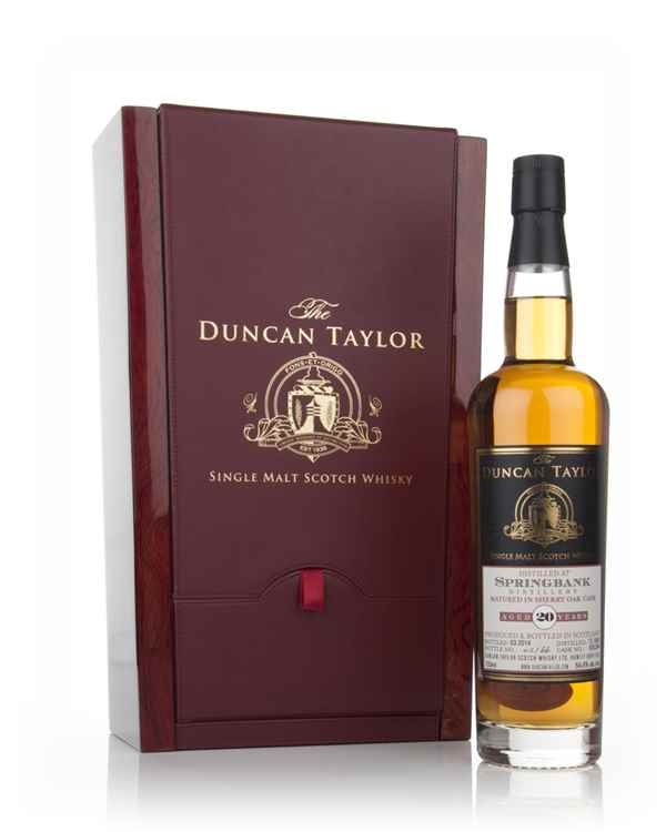 Springbank 20 Year Old 1993 (cask 635264) - The Duncan Taylor Single