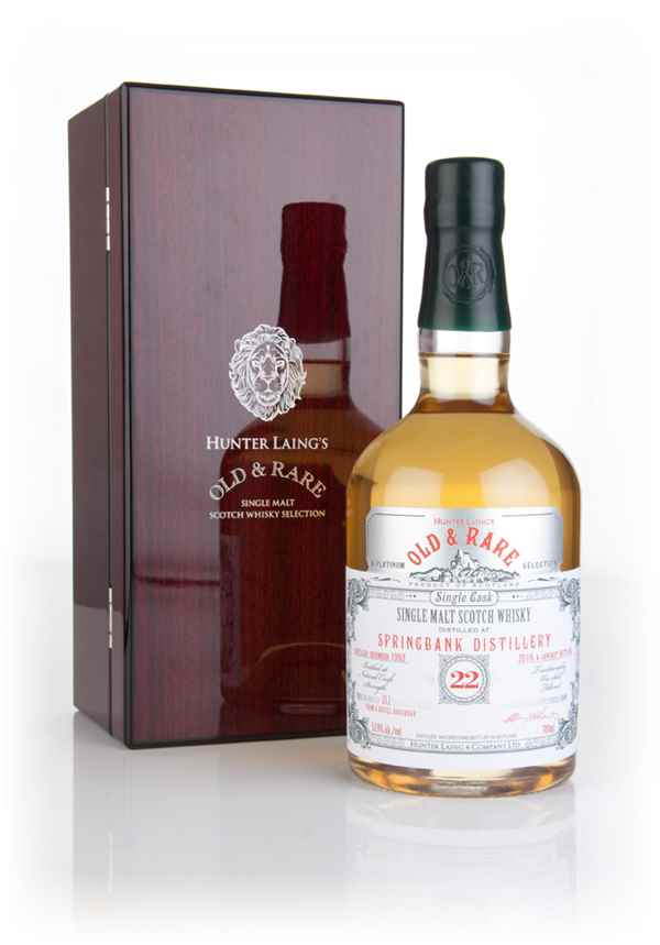Springbank 22 Year Old 1993 - Old & Rare Platinum (Hunter Laing)