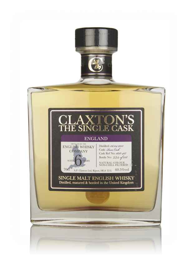 English Whisky Co. 6 Year Old 2011 - Claxton's