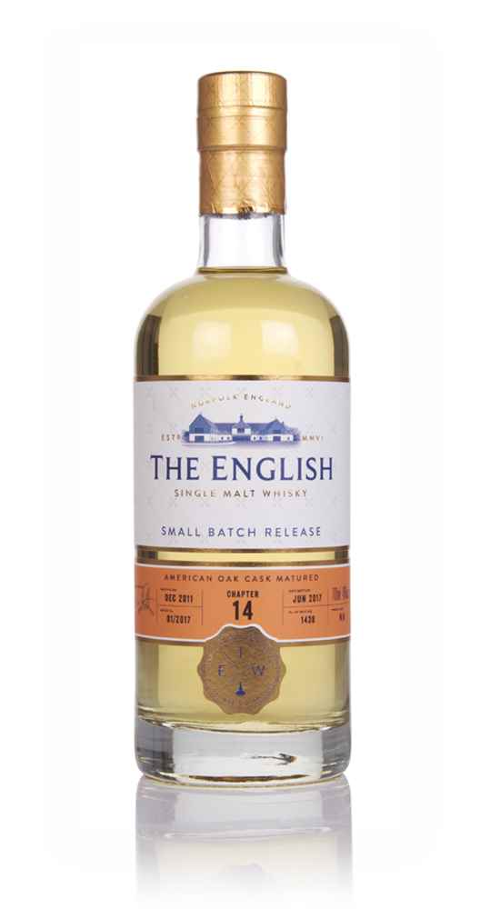 English Whisky Co. Chapter 14 (bottled 2017)