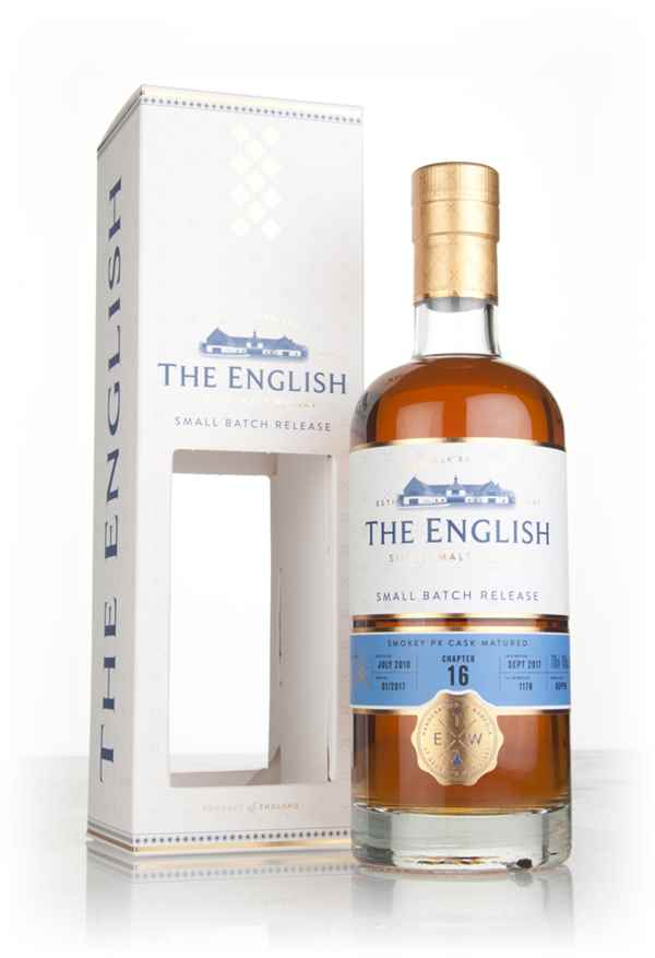 English Whisky Co. Chapter 16 (bottled 2017)
