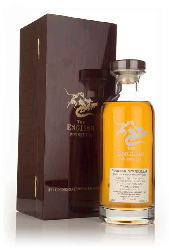 English Whisky Co. Founders Private Cellar - Port Cask