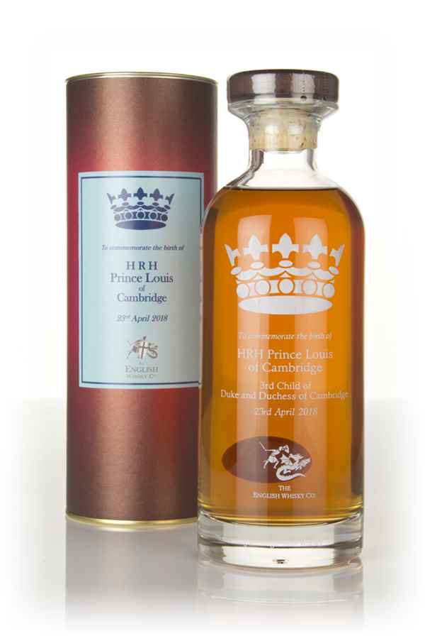 English Whisky Co. HRH Prince Louis of Cambridge Edition