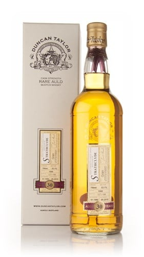 Strathclyde 30 Year Old 1980 Cask 1500 - Rare Auld (Duncan Taylor)