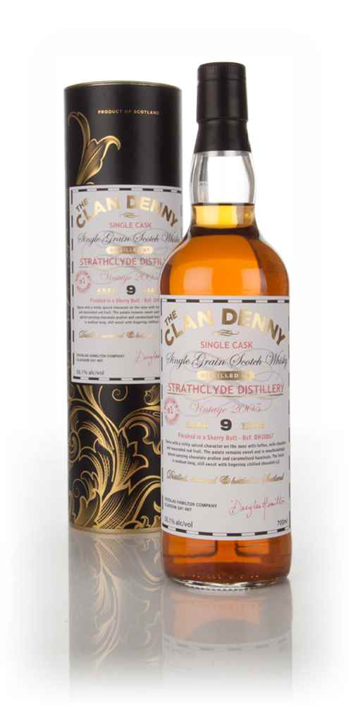 Strathclyde 9 Year Old 2005 (cask 10867) - The Clan Denny (Douglas Laing)