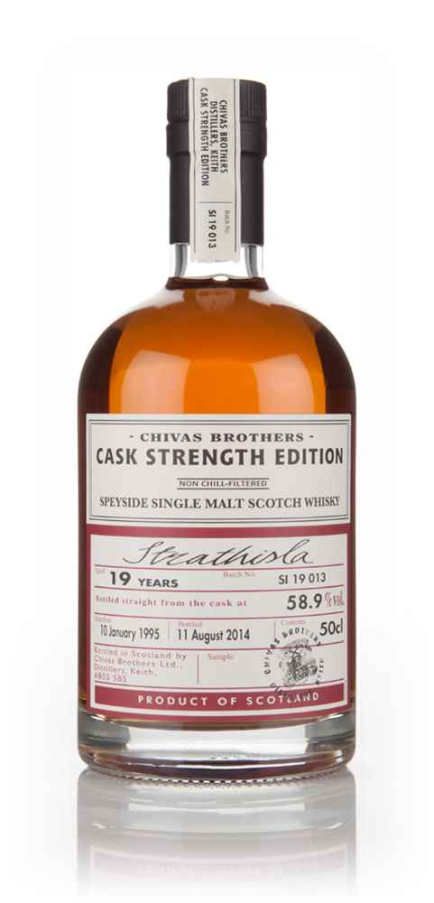 Strathisla 19 Year Old 1995 - Cask Strength Edition (Chivas Brothers)