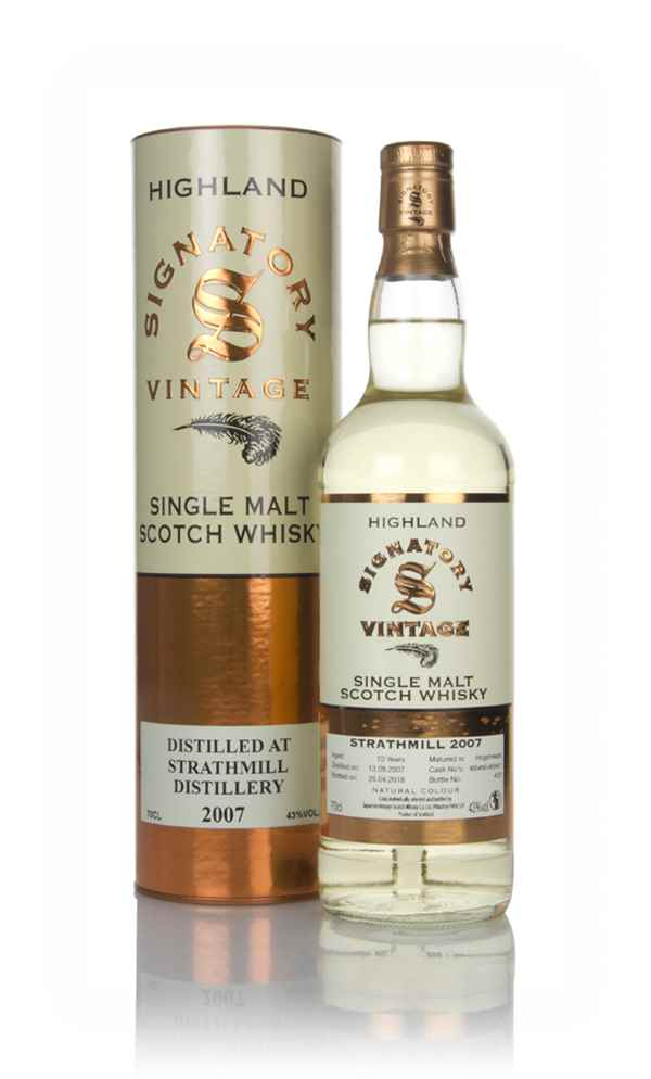 Strathmill 10 Year Old 2007 (casks 805456 & 805457) - Signatory
