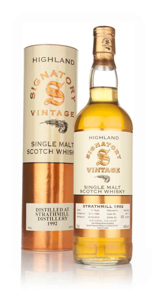 Strathmill 17 Year Old 1992 (Signatory)