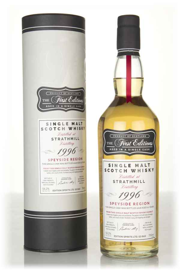Strathmill 21 Year Old 1996 (cask 15187) - The First Editions (Hunter Laing)
