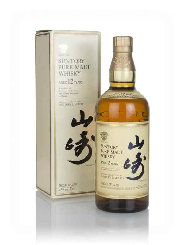 Suntory 12 Year Old Pure Malt - 1990s