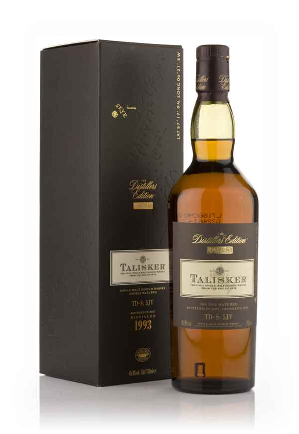 Talisker 1993 (bottled 2007) Amoroso Cask Finish - Distillers Edition