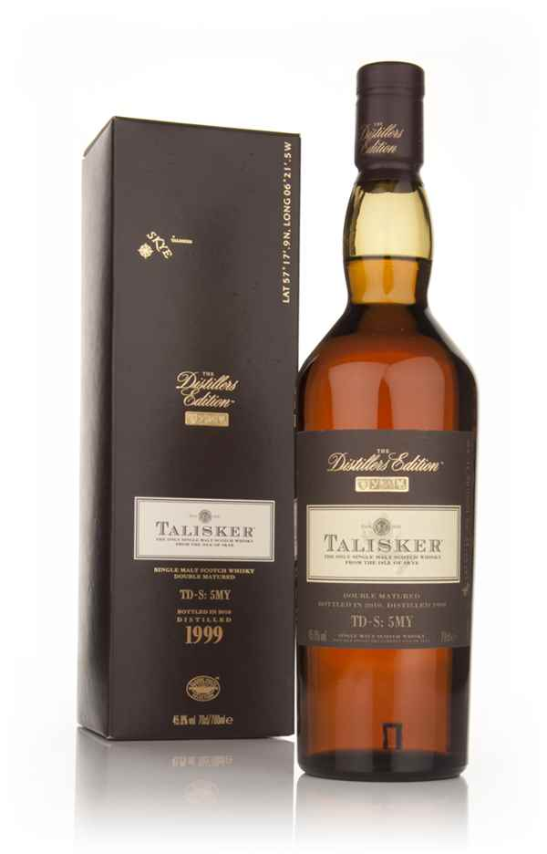 Talisker 1999 (bottled 2010) Amoroso Cask Finish - Distillers Edition