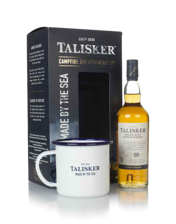 Talisker 10 Year Old Campfire Hot Chocolate Kit