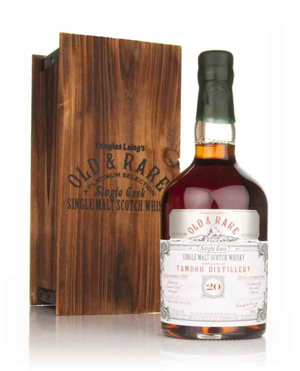 Tamdhu 20 Year Old 1989 - Old and Rare Platinum (Douglas Laing)