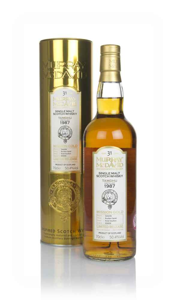 Tamdhu 31 Year Old 1987 (cask 600006) - Mission Gold (Murray McDavid)