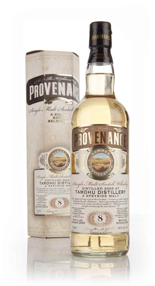 Tamdhu 8 Year Old 2005 (cask 10293) - Provenance (Douglas Laing)