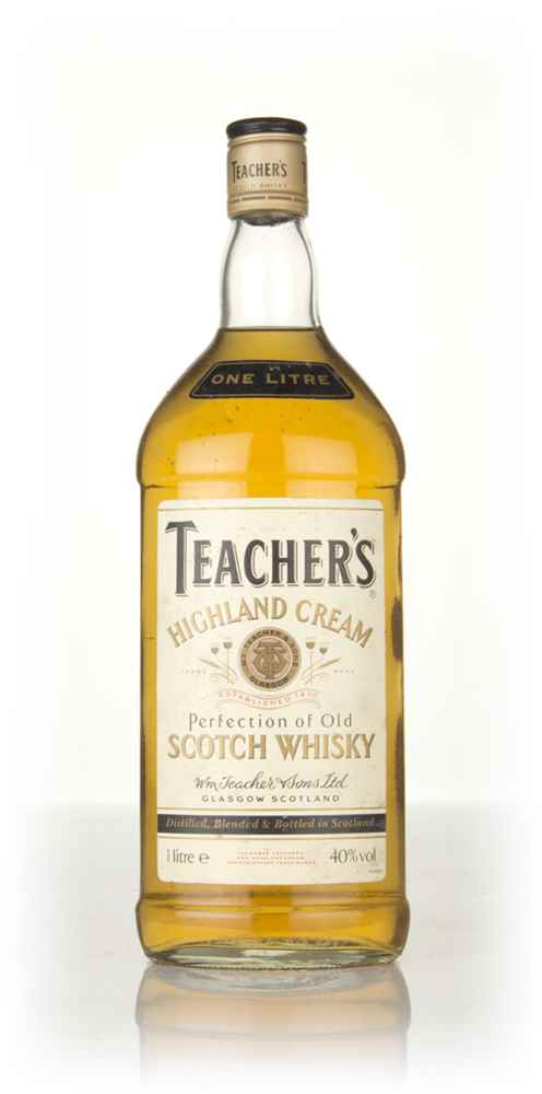 Teacher's Highland Cream Blended Scotch Whisky - 1980s