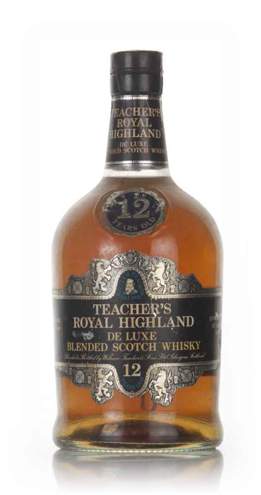Teacher's Royal Highland 12 Year Old - 1970
