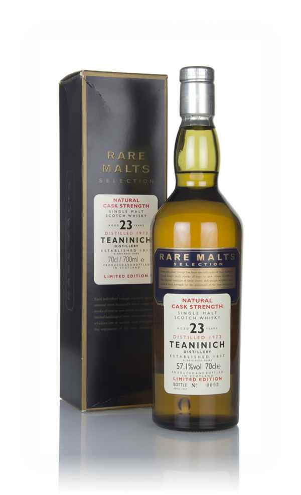 Teaninich 23 Year Old 1973 - Rare Malts