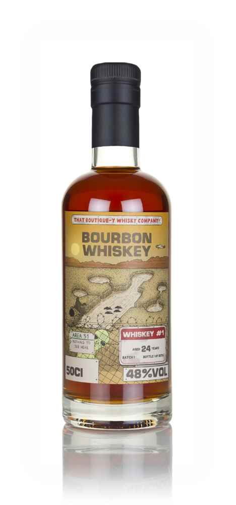 Bourbon Whiskey #1 24 Year Old (That Boutique-y Whisky Company)