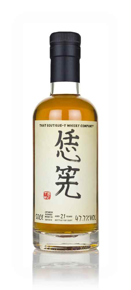 Japanese Blended Whisky #1 21 Year Old (That Boutique-y Whisky Company)