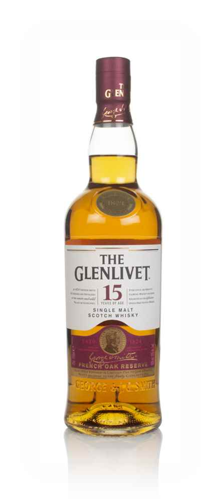 the glenlivet 15 year old french oak reserve whisky master of malt