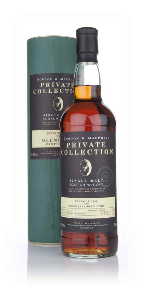 Glenlivet 1959 - Private Collection (Gordon and MacPhail)
