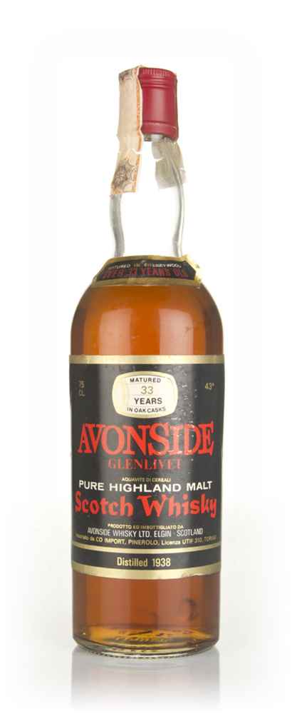 Avonside-Glenlivet 33 Year Old 1938
