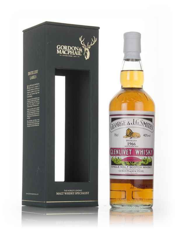 Smith's Glenlivet 1966 (bottled 2014) - Gordon & MacPhail