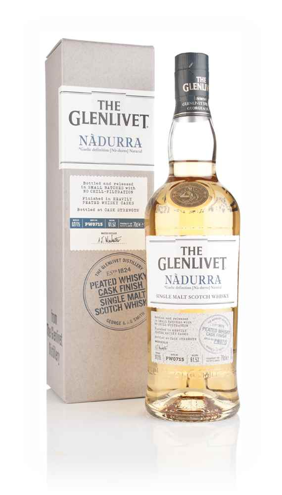 the glenlivet nàdurra peated whisky cask finish master of malt