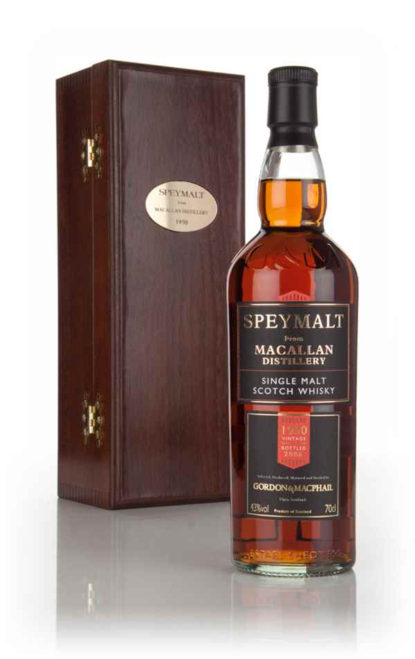 Macallan 1950 (bottled 2006) - Speymalt (Gordon & MacPhail)