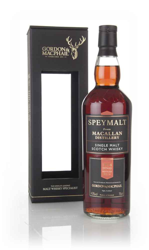 Macallan 1974 (bottled 2016) - Speymalt (Gordon & MacPhail)