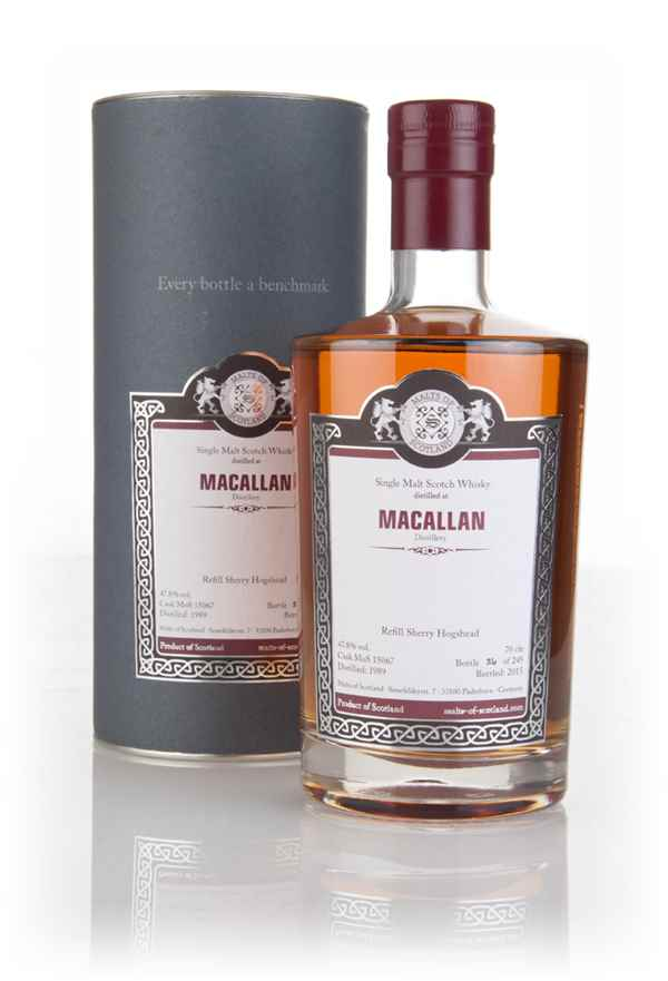Macallan 1989 (bottled 2015) (cask 15067) - Malts of Scotland
