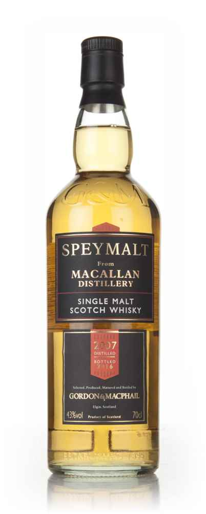 Macallan 2007 (bottled 2016) - Speymalt (Gordon & MacPhail)