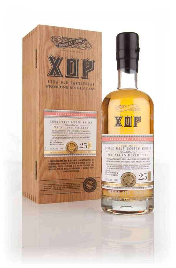Macallan 25 Year Old 1990 (cask 10952) - Xtra Old Particular (Douglas Laing)