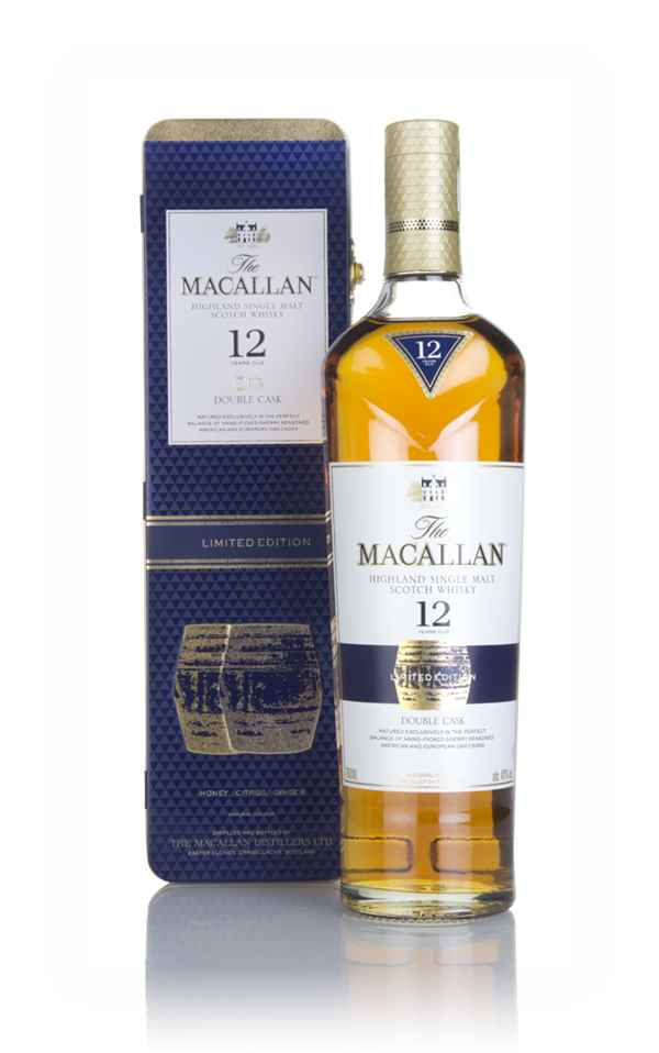 8c03fe9ea9d The Macallan 12 Year Old Double Cask (with Presentation Tin) Whisky ...