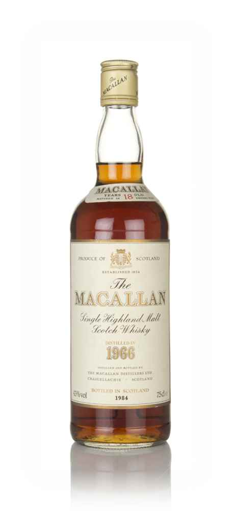The Macallan 18 Year Old 1966  (No Box)