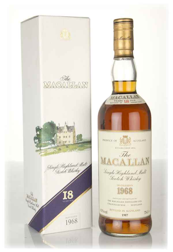 The Macallan 18 Year Old 1968